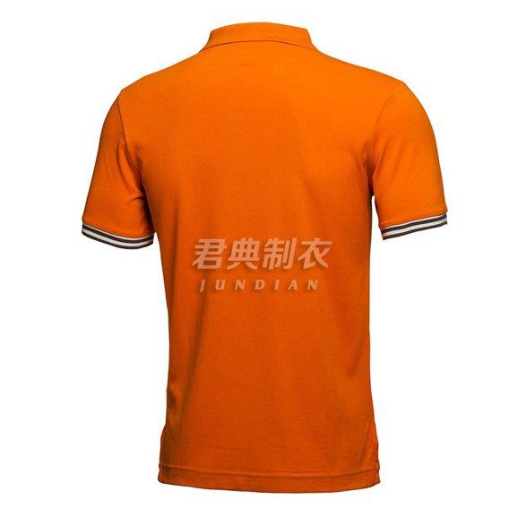 桔色广告polo衫2