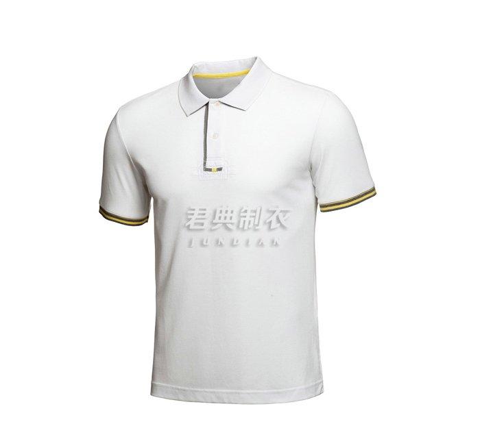 白色广告polo衫3