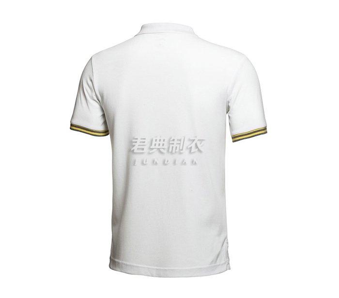 白色广告polo衫4