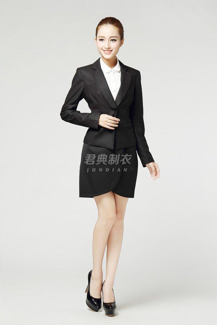 女士职业西装套裙2