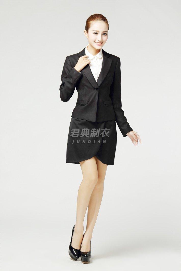 女士职业西装套裙6