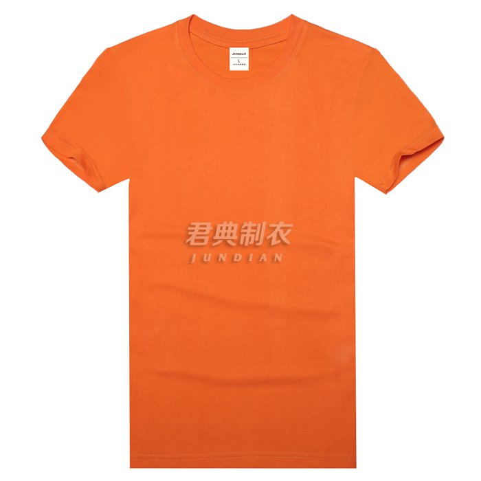 长绒精梳棉T恤1