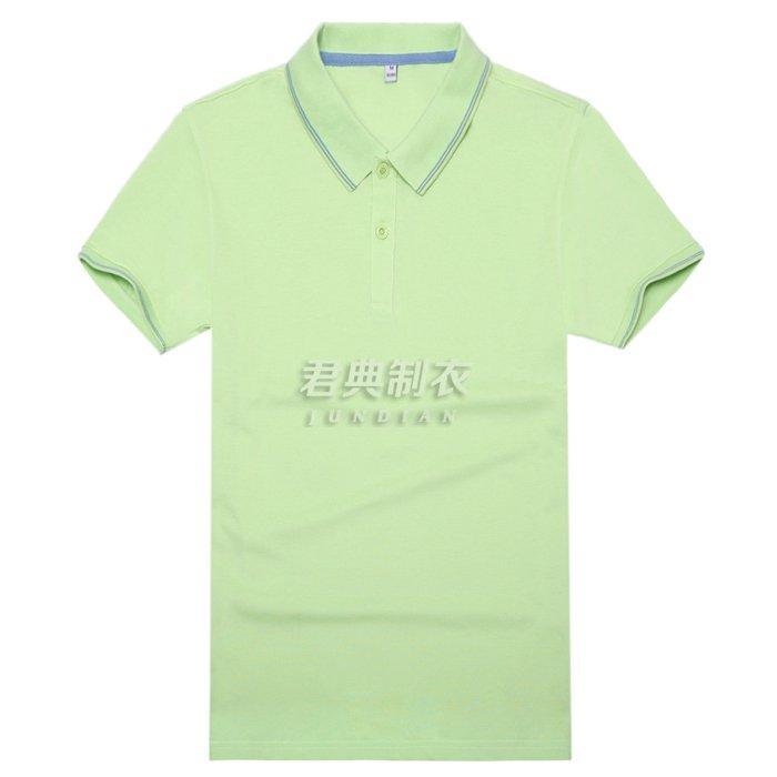 高档T恤衫果绿色