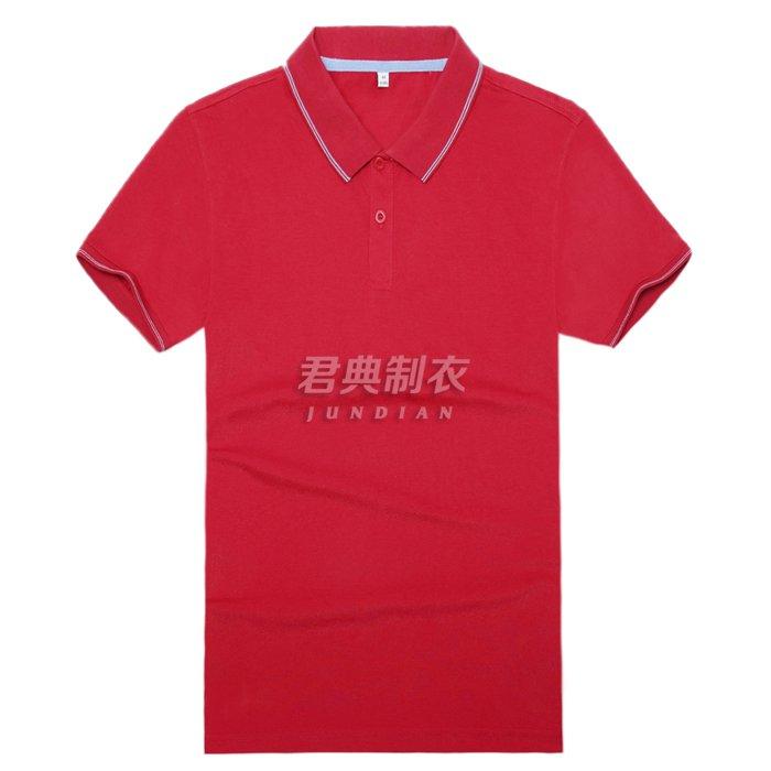 高档T恤衫红色