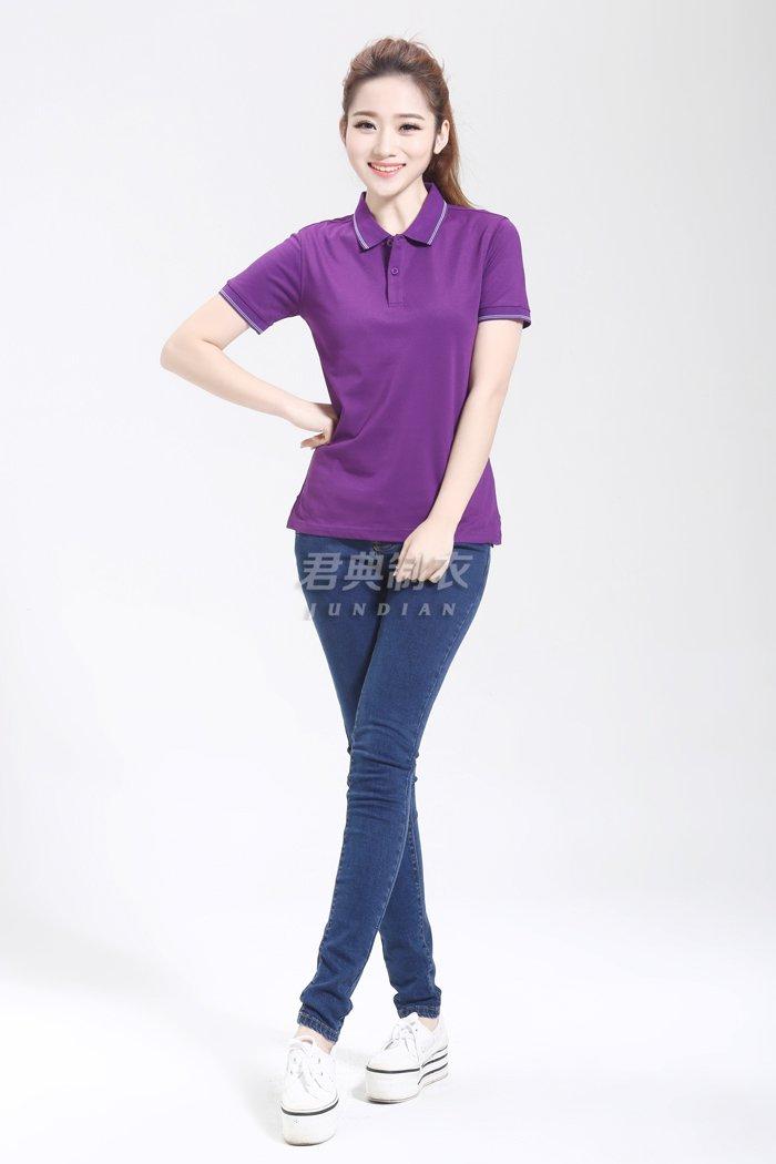 紫色T恤衫2
