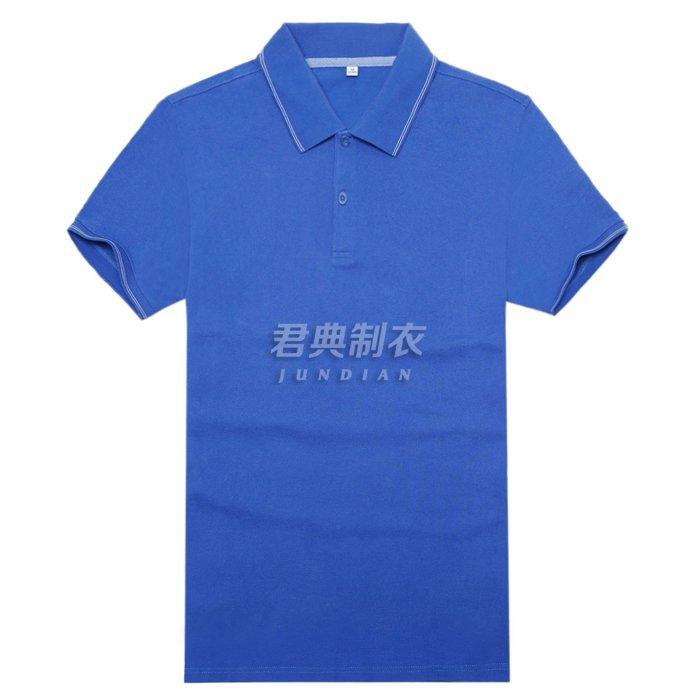 高档T恤衫宝蓝色