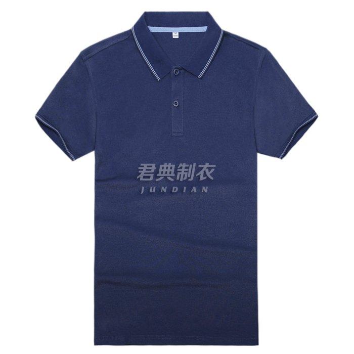 高档T恤衫藏蓝色