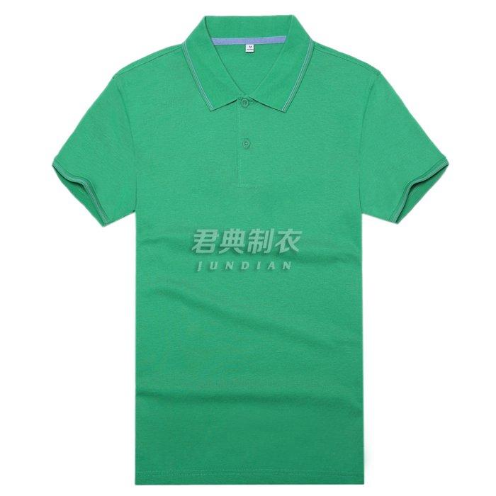 高档T恤衫翠绿色