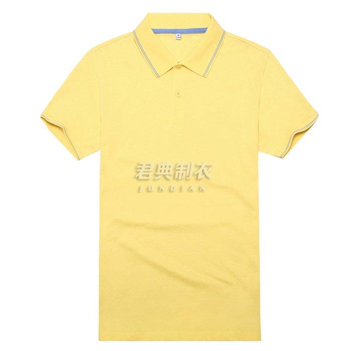 高档T恤衫黄色