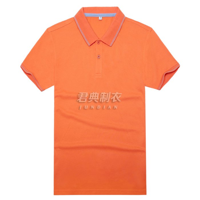 高档T恤衫橘色