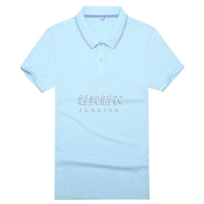 高档T恤衫浅蓝色